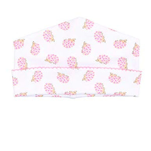 Pink Hedgehugs & Kisses Printed Hat