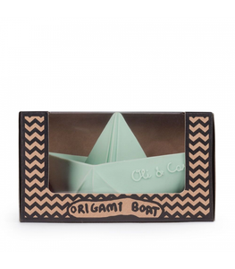 Origami Mint Boat