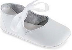 Ballet White Leather Shoe