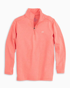 Sunset Coral Colleton Performance Q Zip