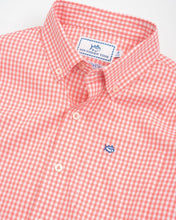 Load image into Gallery viewer, Georgia Peach Gingham IC Sportshirt