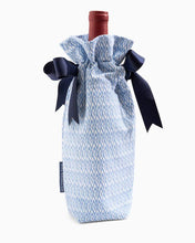 Load image into Gallery viewer, True Blue Drink Me Wine Tote