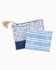 Blue Knight Skipjack Cosmetic Bag Set
