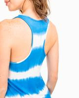 Reagan Shibori Stripe Dress