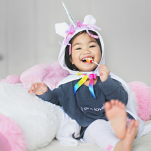 Load image into Gallery viewer, Unicorn Baby Cape