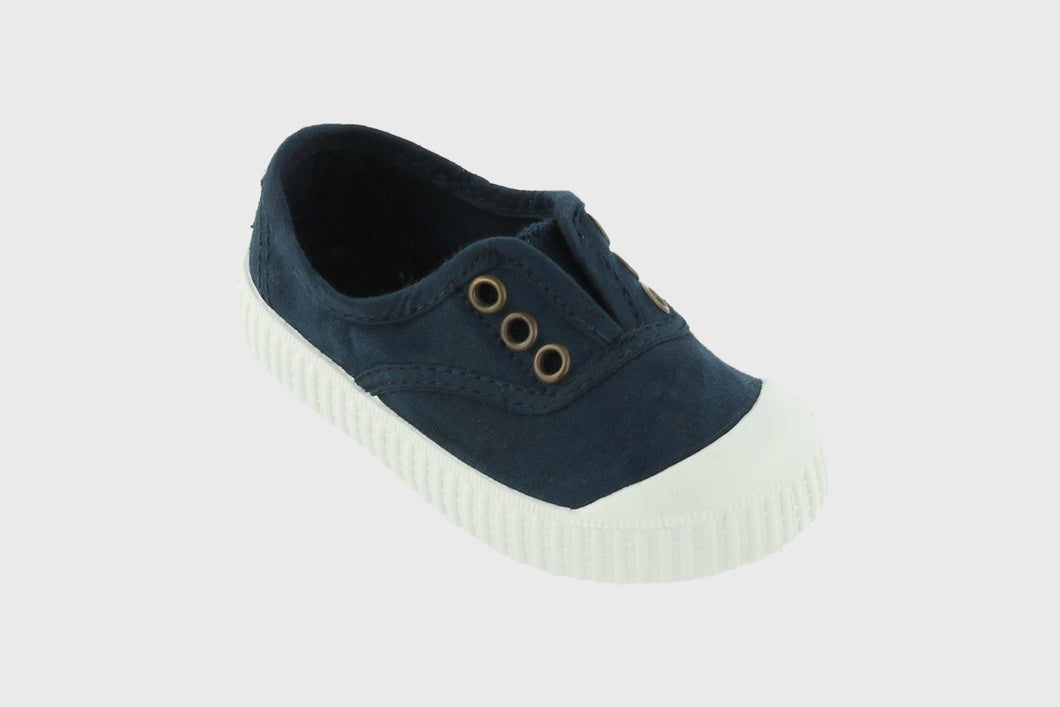 Rubber Toed Kids Canvas Plimsolls