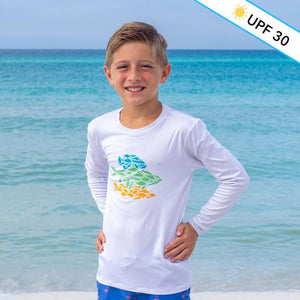 Fish Art LS Sunshirt