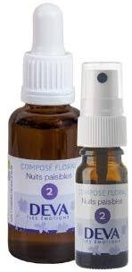 Nuits Paisibles 2 Spray 10 Ml Deva