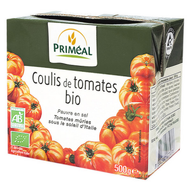 Coulis Tomate 500G Primeal