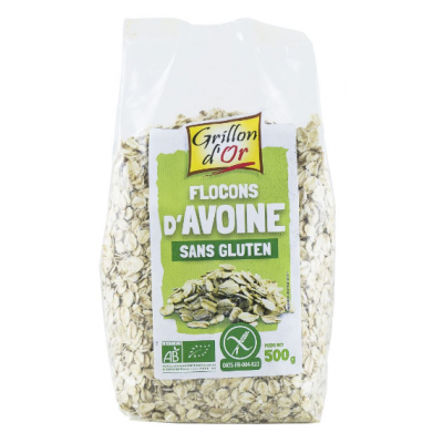 Flocon Avoine Sans Gluten Grillon D Or