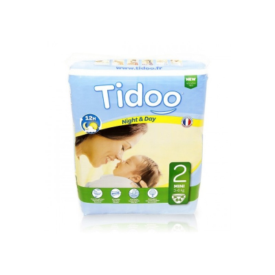 Couches 3-6 Kg Tidoo
