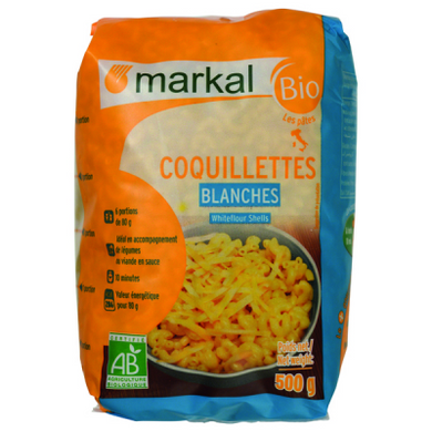 Coquillettes Blanches Markal