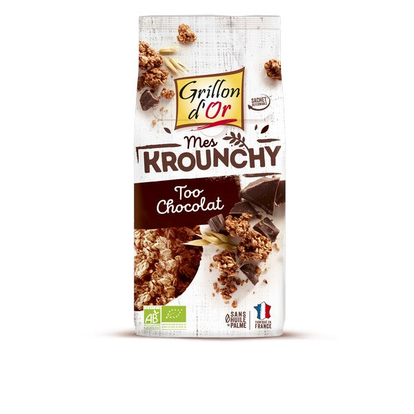 Krounchy too chocolat (500g) | Grillon d'or