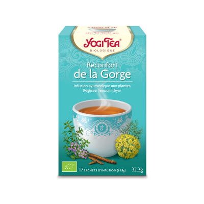 Yogi Tea Reconfort De La Gorge