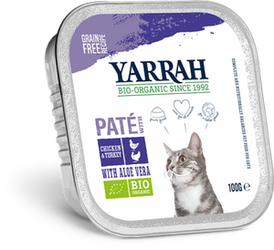Terrine Poulet Dinde Aloe Chat 100G
