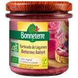 Tartinade Betterave Raifort Bonneterre