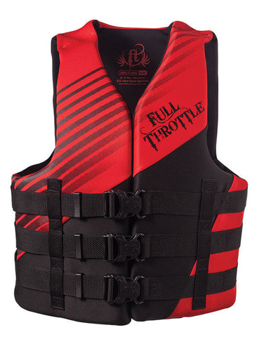 Full Throttle Adult Dual-Sized Rapid-Dry Life Jacket-Vest