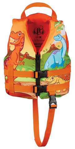 Full Throttle Child Water Buddies Dinosaur Vest