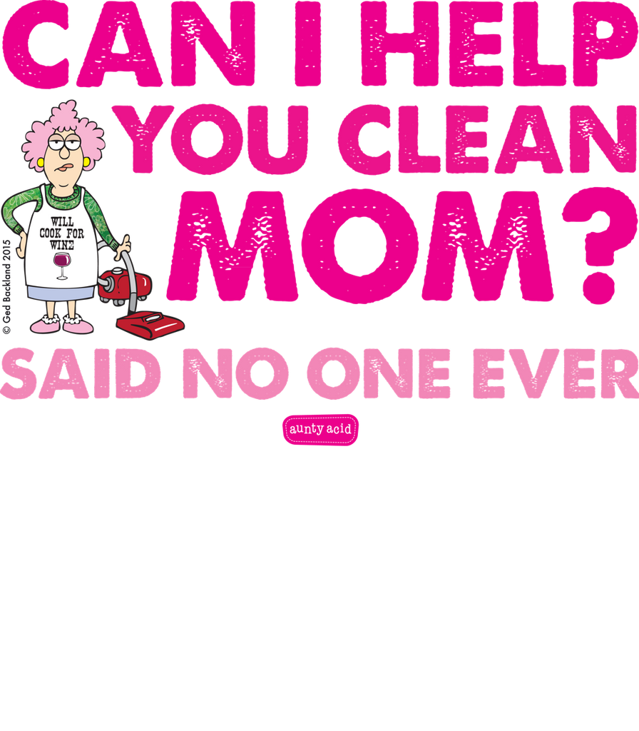 Aunty Acid Can I Help