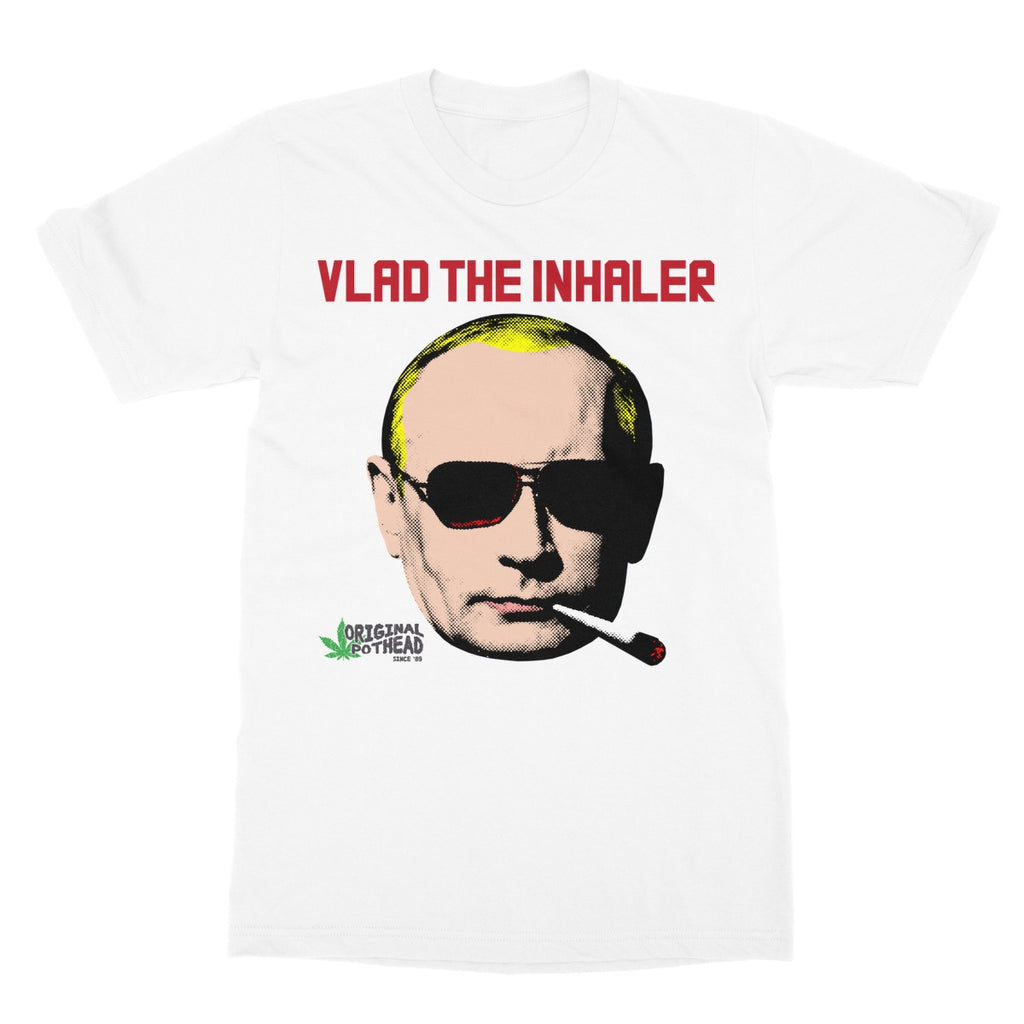 Potheads Vlad the Inhaler T-Shirt - The Official Aunty Acid Store
