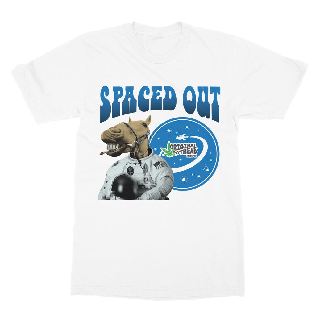 Potheads Spaced Out Horse T-Shirt - The Official Aunty Acid Store