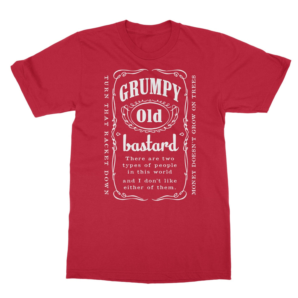 Potheads Grumpy Old Bastard T-Shirt - The Official Aunty Acid Store