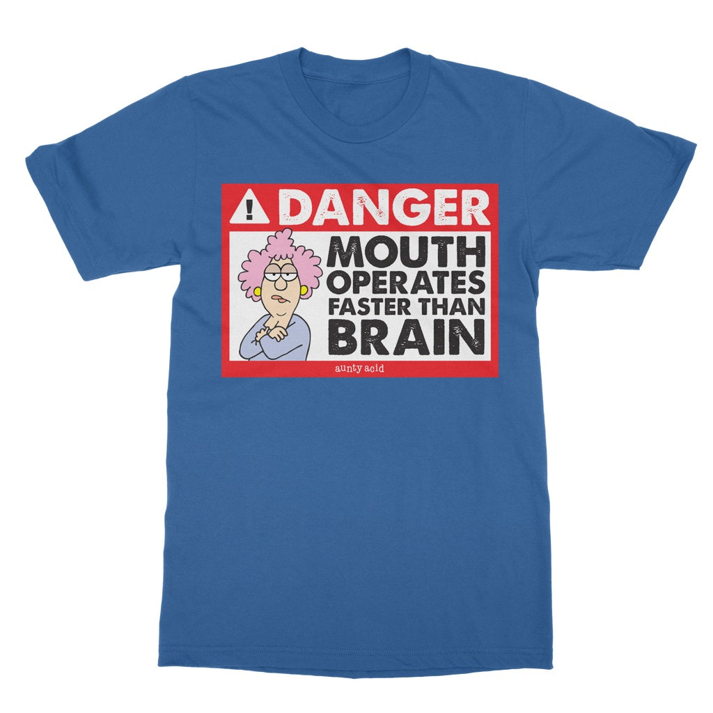 Aunty Acid Danger T-Shirt - The Official Aunty Acid Store