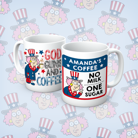 Aunty Acid G&G and Coffee Personalised Mug - The Official Aunty Acid Store