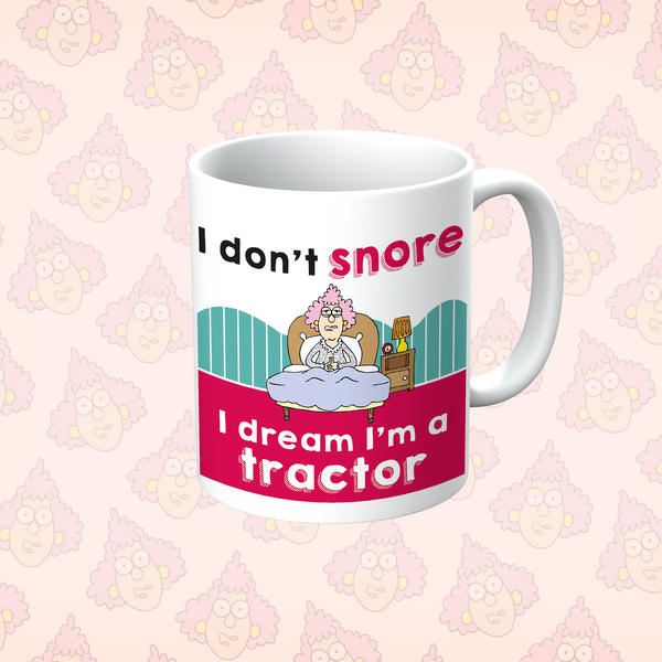 Aunty Acid I don't Snore Mug - The Official Aunty Acid Store