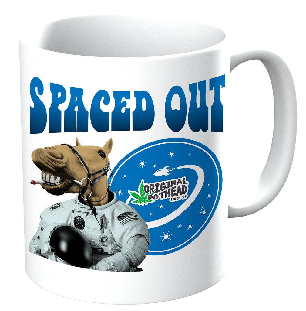 Potheads Spaced Out Camel 02 Mug - The Official Aunty Acid Store