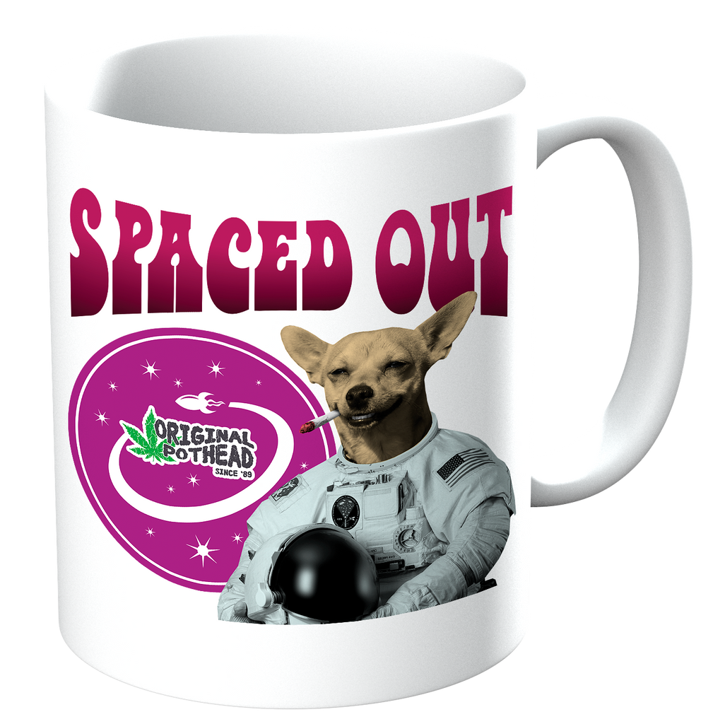Potheads Spaced Out Dog Mug - The Official Aunty Acid Store