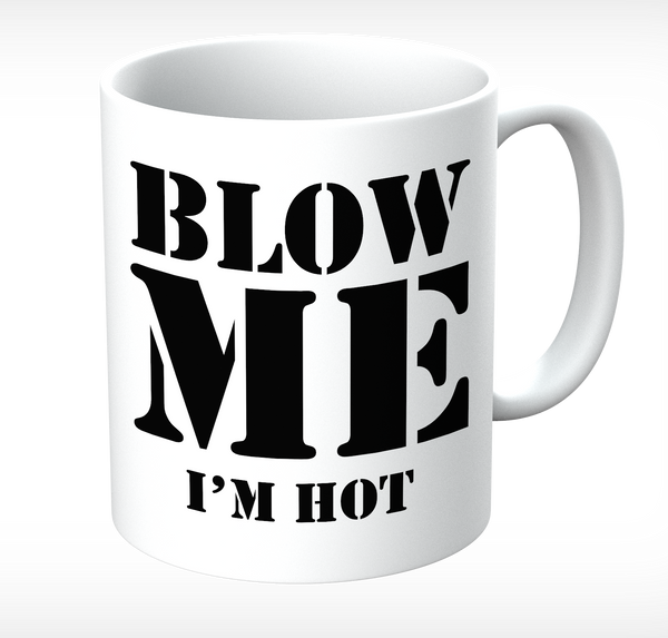 Grumpy Old Gits Blow Me Mug - The Official Aunty Acid Store