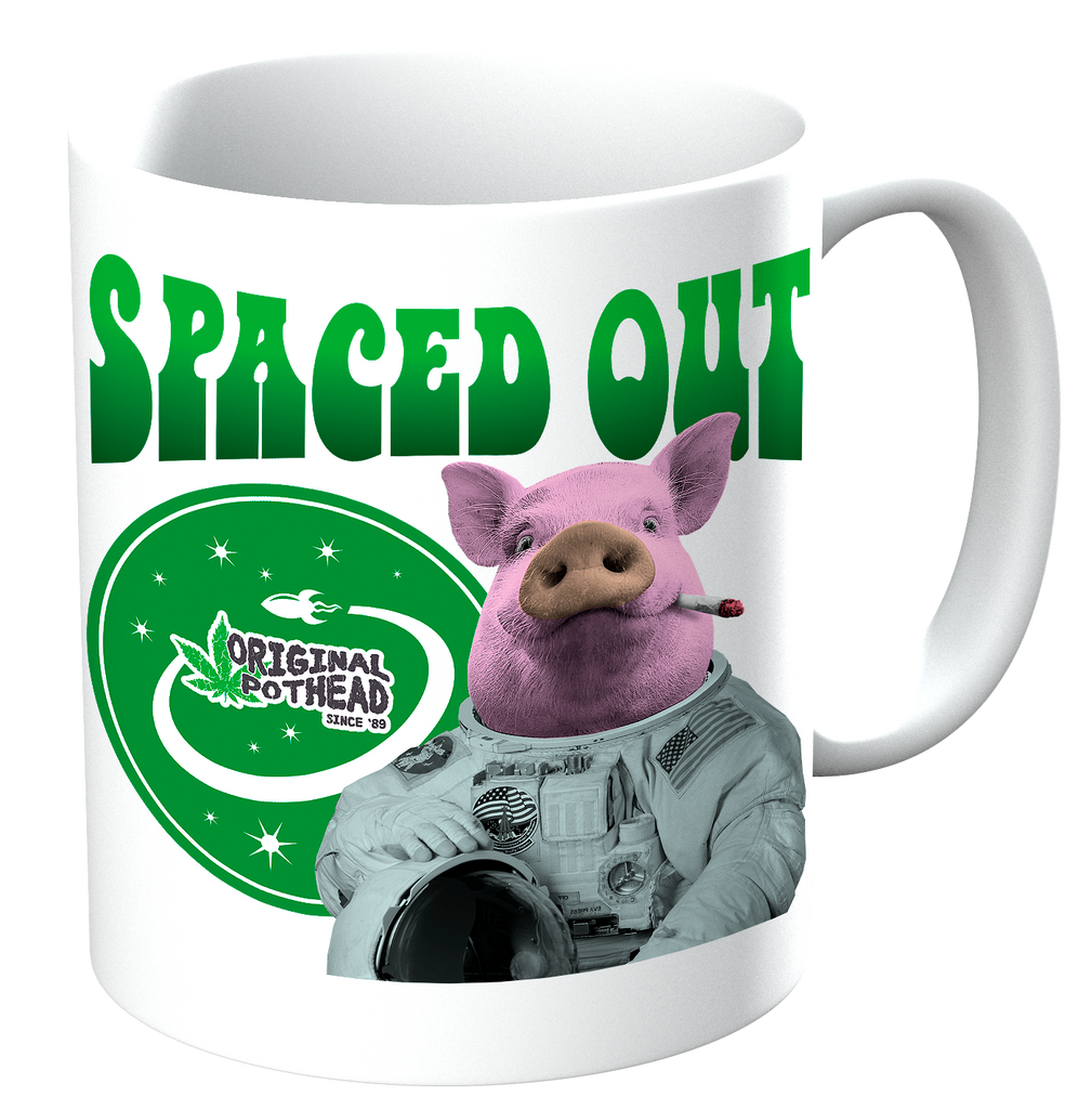 Potheads Spaced Out Pig Mug - The Official Aunty Acid Store