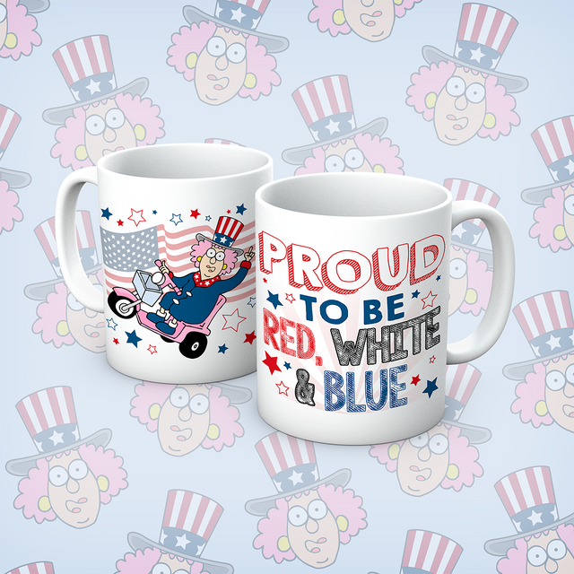 Aunty Acid Proud To Be Mug - The Official Aunty Acid Store