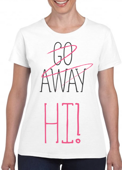 Queens Of Sass Go Away T-Shirt - The Official Aunty Acid Store