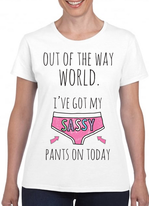 Queens Of Sass Sassy Pants T-Shirt