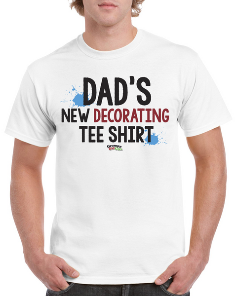 Grumpy Old Gits New Decorating T-Shirt