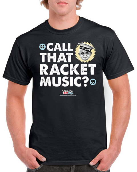 Grumpy Old Gits Racket Music T-Shirt