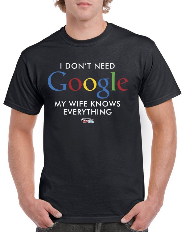 Grumpy Old Gits Google T-Shirt