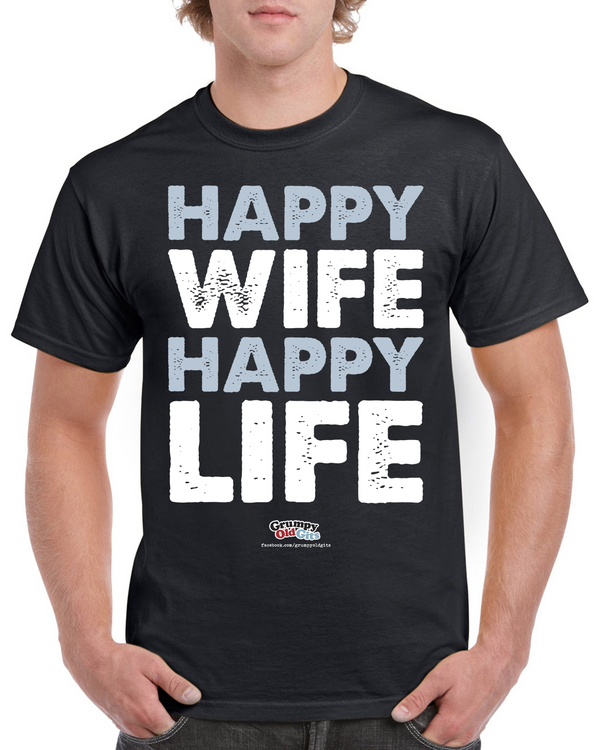 Grumpy Old Gits Happy Wife T-Shirt