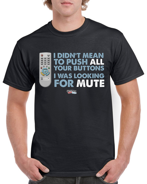 Grumpy Old Gits Mute T-Shirt - The Official Aunty Acid Store