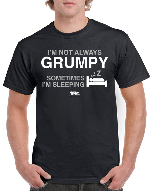 Grumpy Old Gits Sleeping T-Shirt