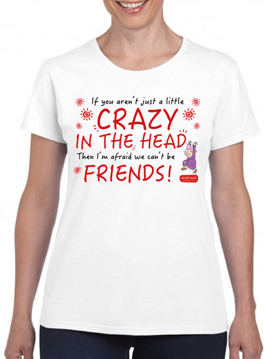 Aunty Acid Crazy In The Head T-Shirt