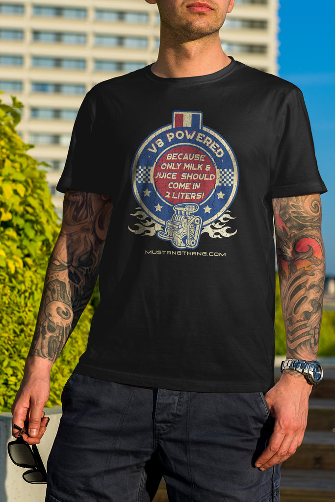 Mustang Thang Vintage V8 T-Shirt - The Official Aunty Acid Store