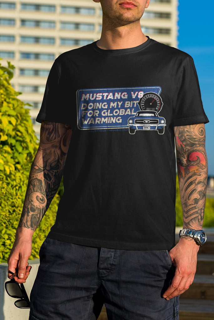 Mustang Thang Mustang v8 T-Shirt - The Official Aunty Acid Store