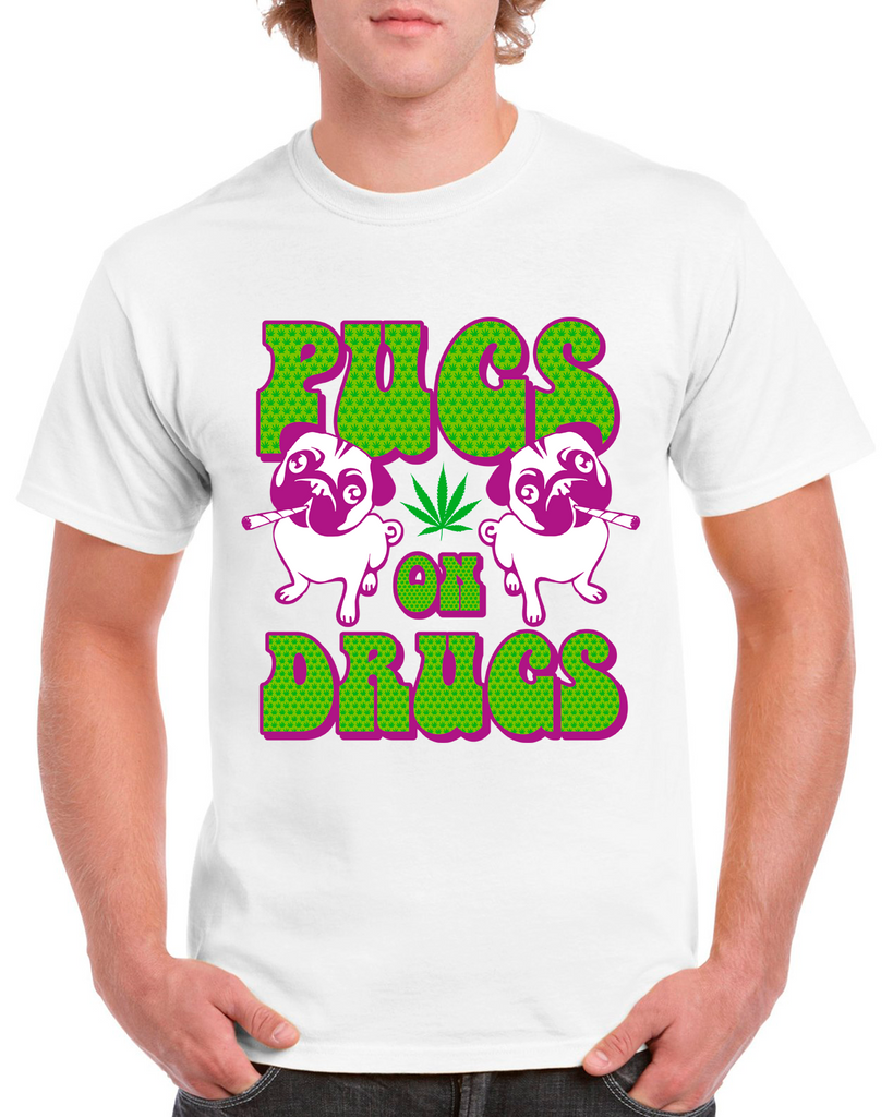 Potheads Pugs On Drugs T-Shirt