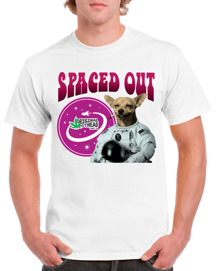 Potheads Spaced Out Dog T-Shirt