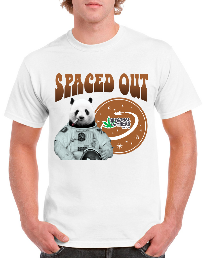 Potheads Spaced Out Panda 02 T-Shirt