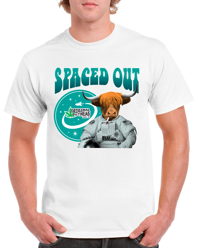 Potheads Spaced Out Cow T-Shirt