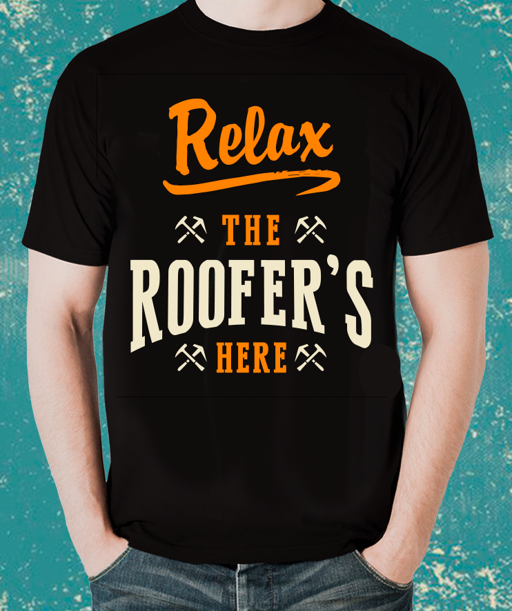 Tradesman Relax  ROOFER T-Shirt